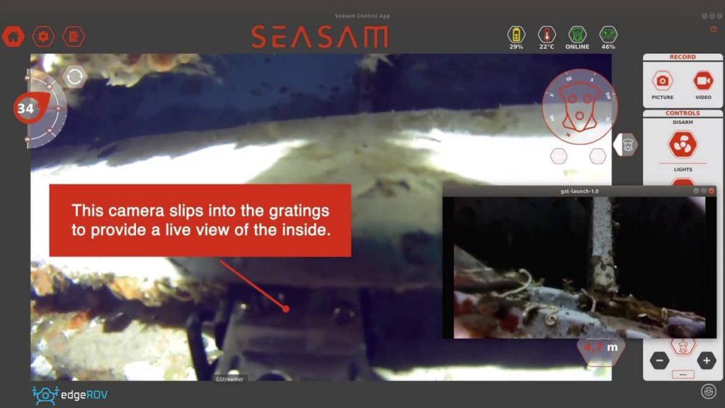 SEASAM FEATURE FOCUS = SEA CHEST INSPECTION