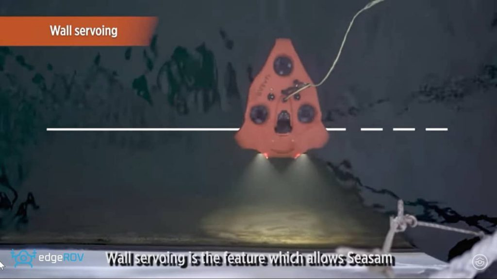 SEASAM FEATURE FOCUS – WALL SERVOING
