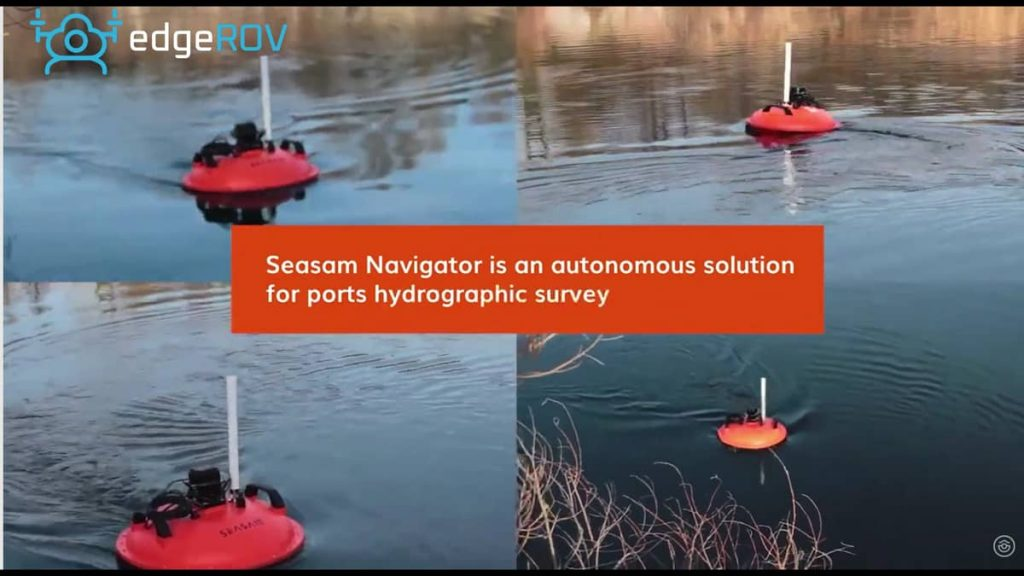 SEASAM NAVIGATOR – AS AN UNMANNED SURFACE VEHICLE (USV) FOR BATHOMETRIC